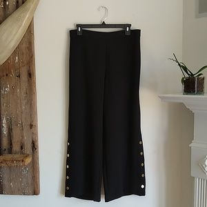 Who what wear wide leg ankle pants M